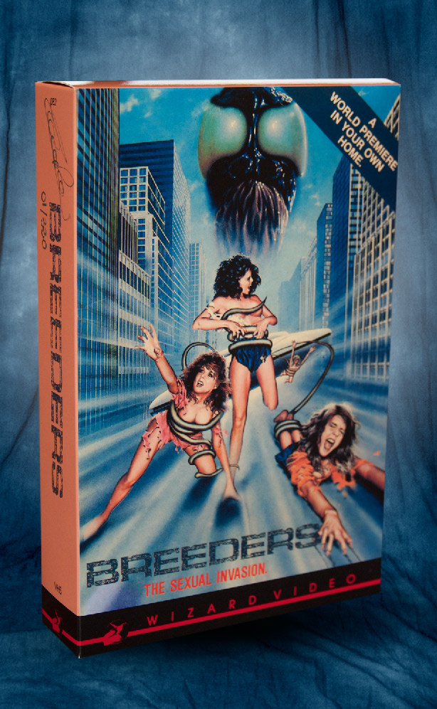breeders the wizard video vhs collection