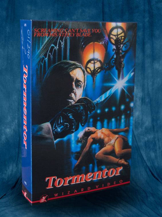 tormentor the wizard video vhs collection